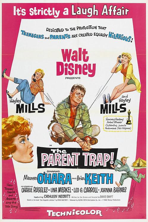 O GRANDE AMOR DE NOSSAS VIDAS (The Parent Trap, 1961) BLU RAY
