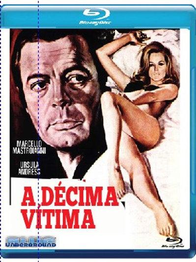 A DÉCIMA VÍTIMA (La Decima Vittima, 1965) Blu-ray