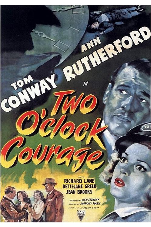 DUAS HORAS DE CORAGEM (Two O'Clock Courage, 1945)