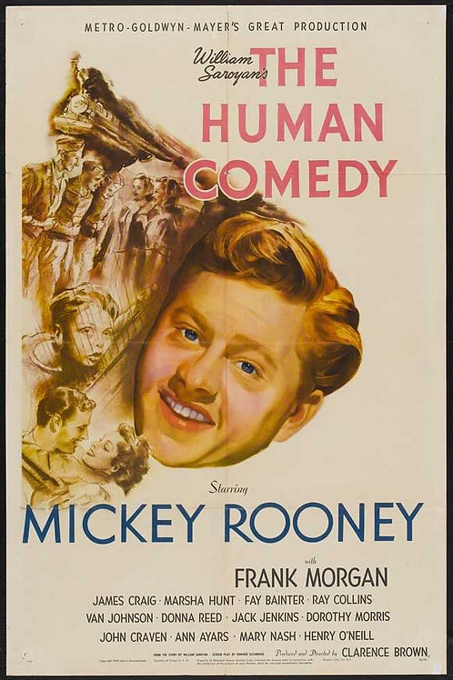 A COMÉDIA HUMANA (The Human Comedy, 1943)