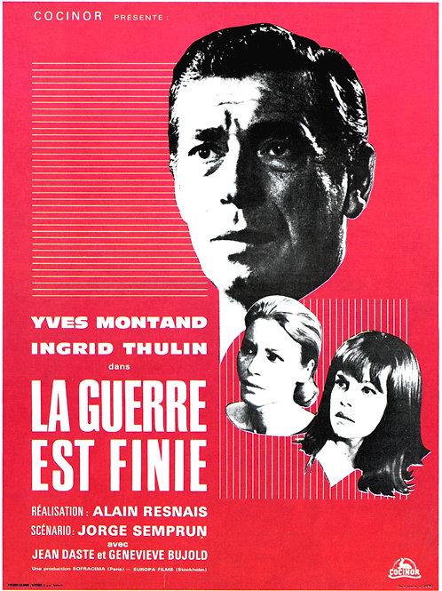 A GUERRA ACABOU (La Guerre Est Finie, 1966)