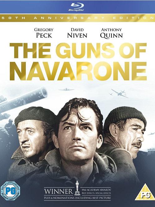 OS CANHÕES DE NAVARONE (The Guns of Navarone, 1961) Bluray