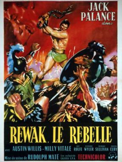 A REVOLTA DOS BÁRBAROS (The Barbarians, 1960)