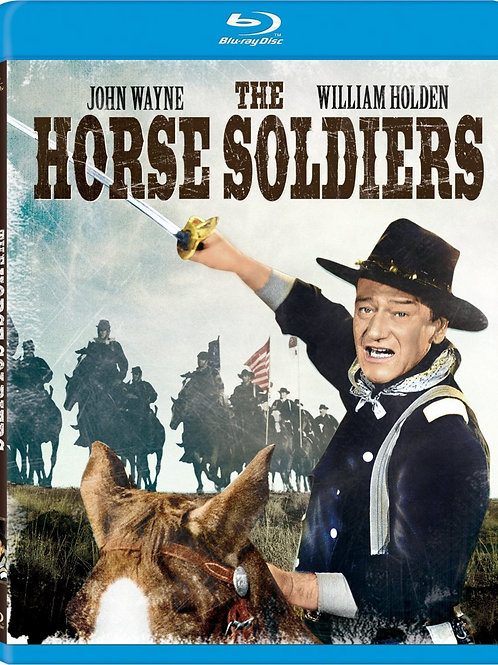 MARCHA DE HERÓIS (The Horse Soldiers, 1959) Bluray