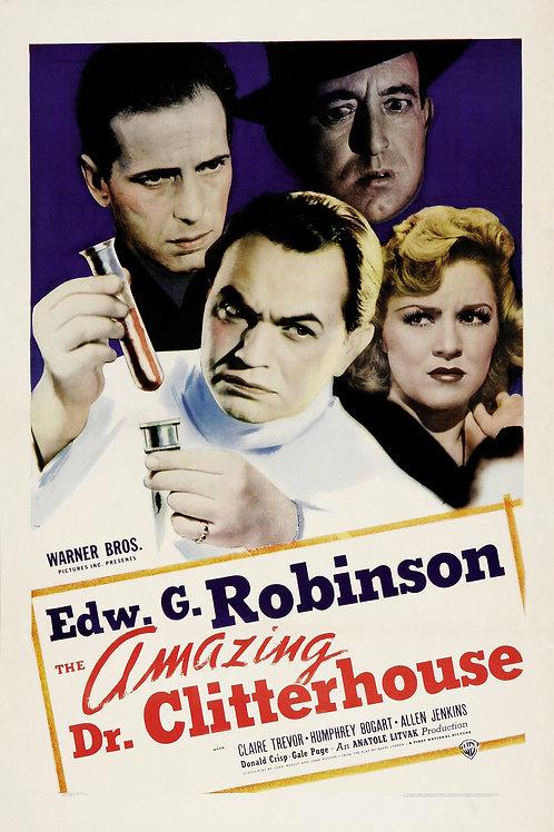 O GÊNIO DO CRIME (The Amazing Dr. Clitterhouse, 1938)