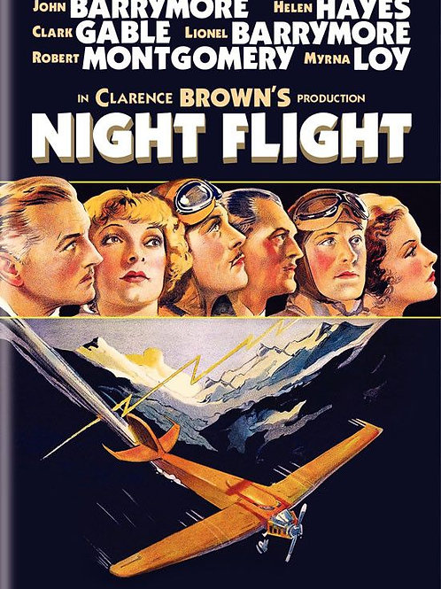 ASAS DA NOITE (Night Flight, 1933)