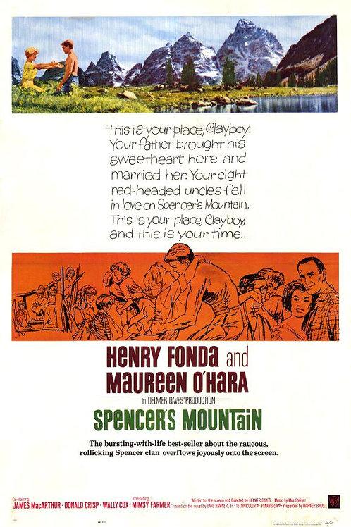 OS NOVE IRMÃOS (Spencer's Mountain, 1963)