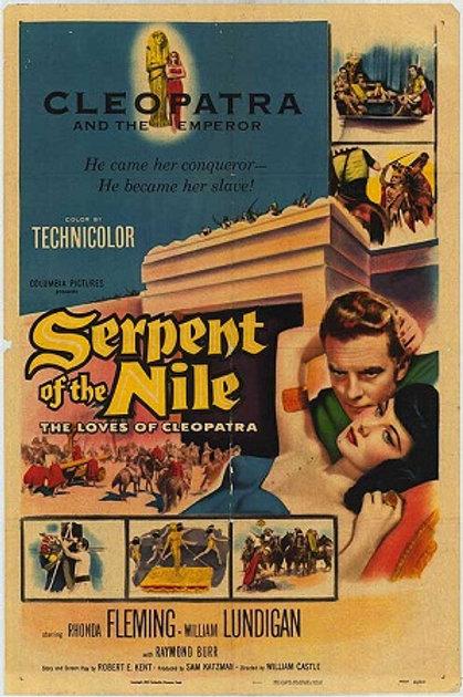 A SERPENTE DO NILO (Serpent of The Nile, 1953)