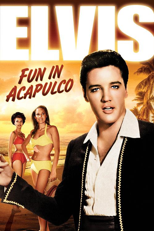 O SERESTEIRO DE ACAPULCO (Fun In Acapulco, 1963) Blu-ray