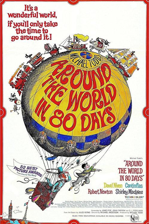 A VOLTA AO MUNDO EM 80 DIAS (Around The World In 8 Days, 1956)