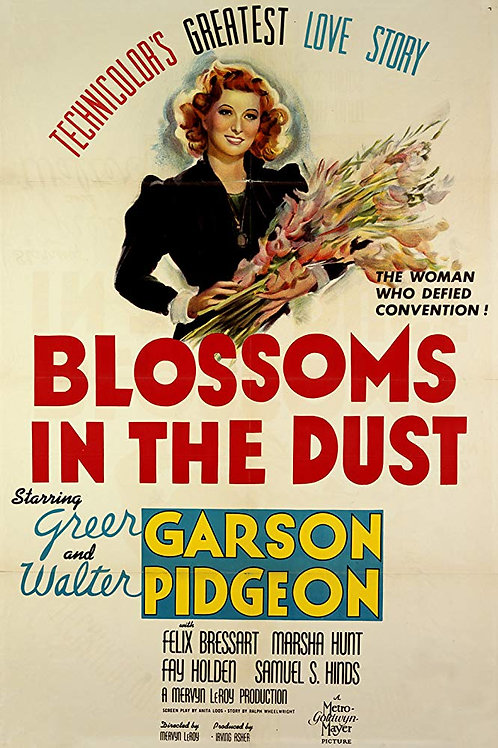 FLORES DO PÓ (Blossoms in the Dust, 1941)