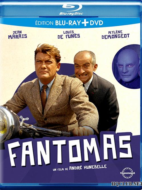 FANTOMAS (Idem, 1964) Blu-ray