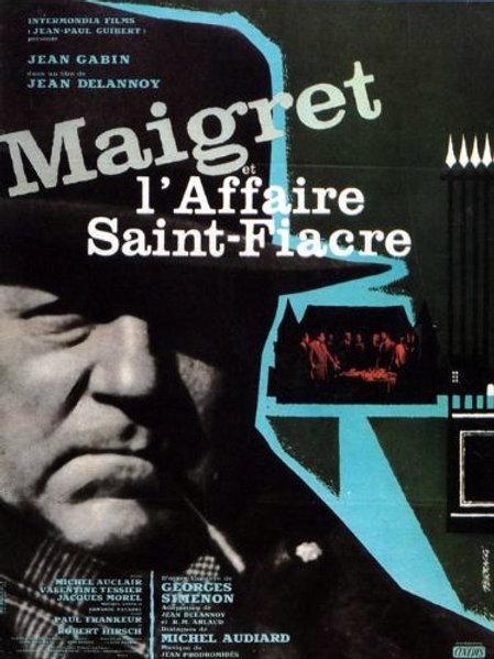 O CASTELO DO MEDO (Maigret et l'affaire Saint-Fiacre, 1959)