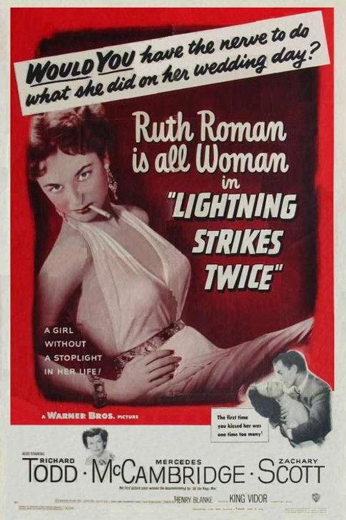 CIÚME QUE MATA (Lightining Strikes Twice, 1951)