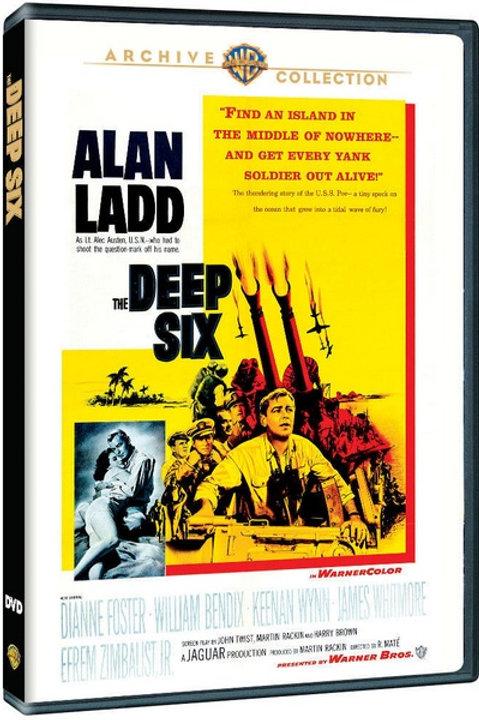 BATALHA CONTRA O MEDO (The Deep Six, 1958)