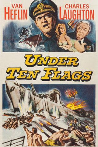 SOB DEZ BANDEIRAS (Under Ten Flags, 1960)