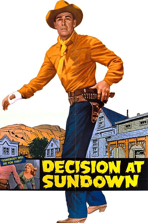 ENTARDECER SANGRENTO (Decision At Sundwon, 1957) Blu-ray