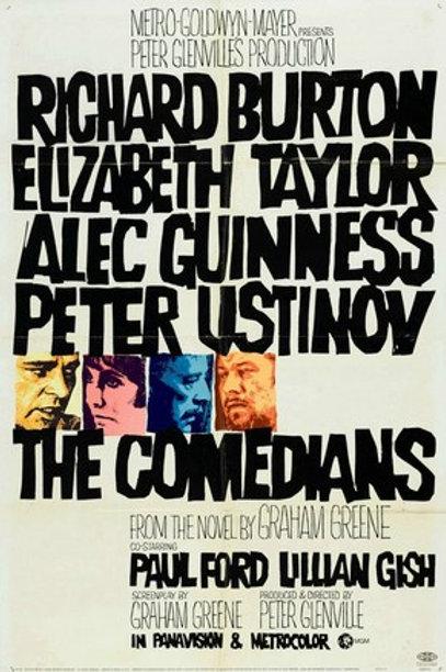 OS FARSANTES (The Comedians, 1967)