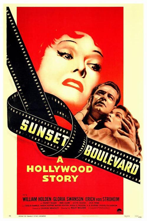 O CREPÚSCULO DOS DEUSES (Sunset Boulevard, 1950)