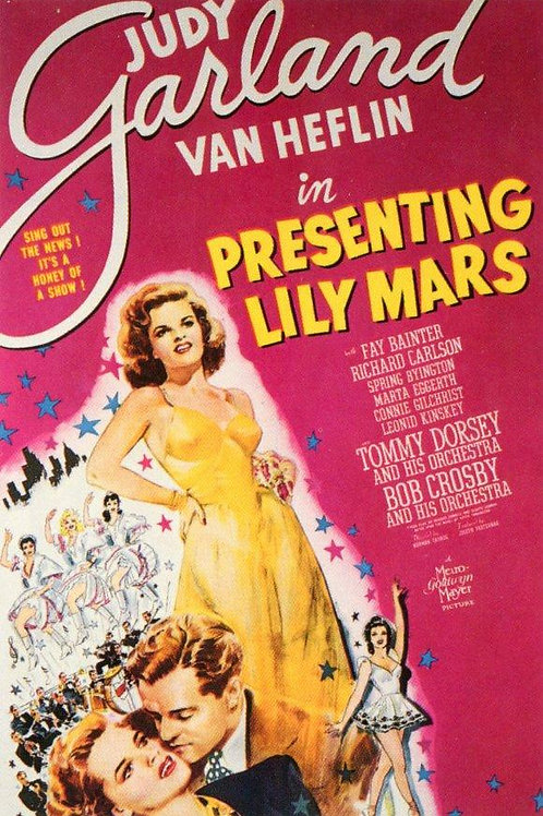LILY, A TEIMOSA (Presenting Lily Mars, 1943)