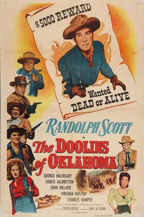 A LEI É IMPLACÁVEL (The Doolins of Oklahoma, 1948)