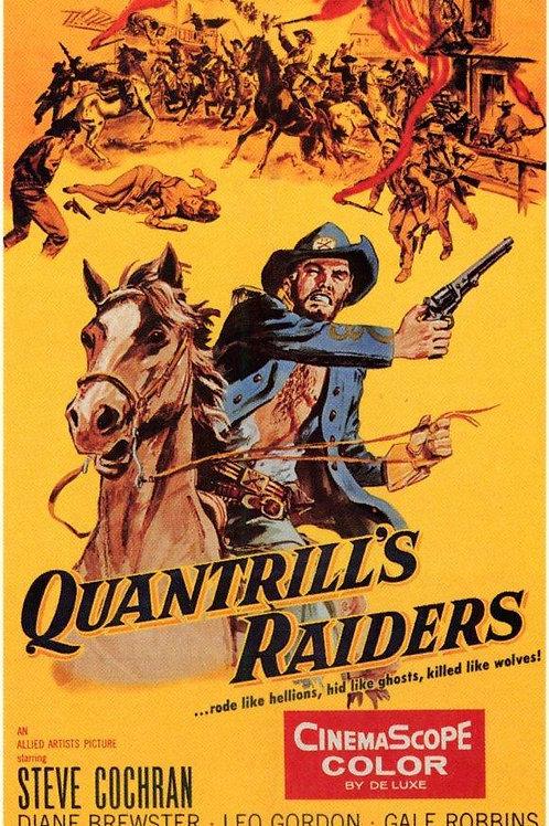 EMBOSCADA HERÓICA (Quantril's Raiders, 1958)