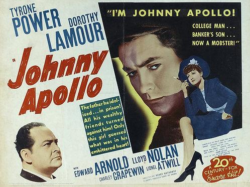 DANÇANDO COM O DIABO (Johnny Apollo, 1940)