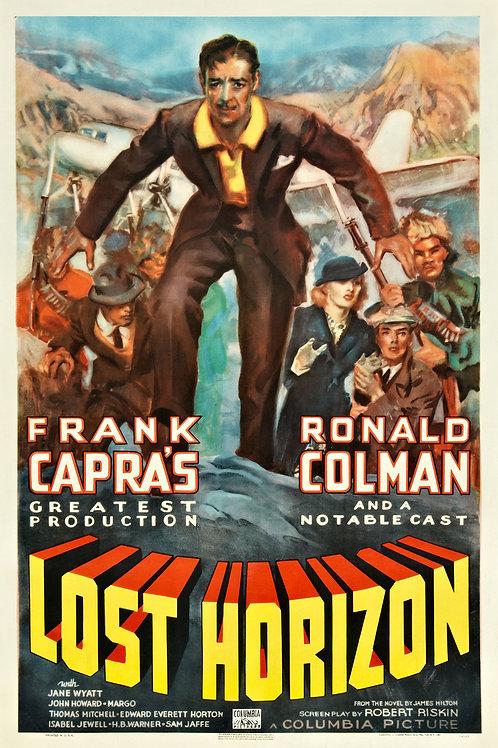 HORIZONTE PERDIDO (Lost Horizon, 1937)