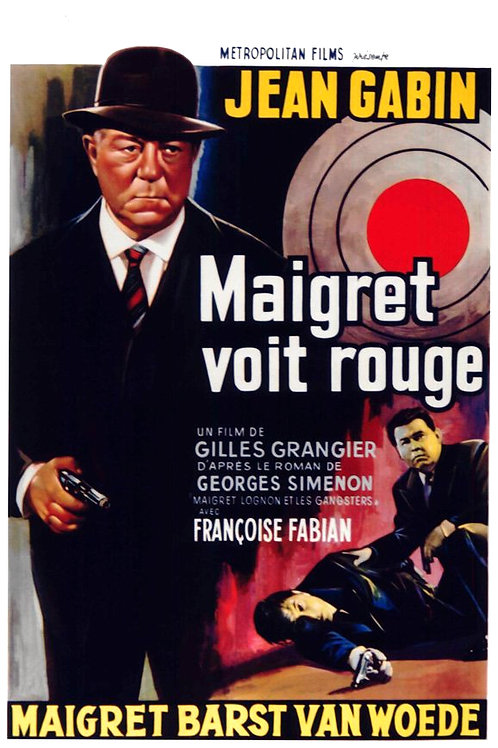 INSPETOR MAIGRET ACERTA (Maigret Voit Rouge, 1963)