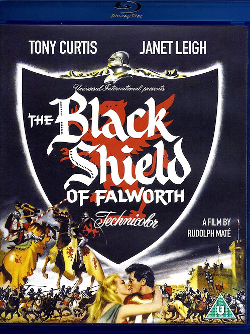 O ESCUDO NEGRO DE FALWORTH (The Black Shield of Falworth, 1954) Bluray