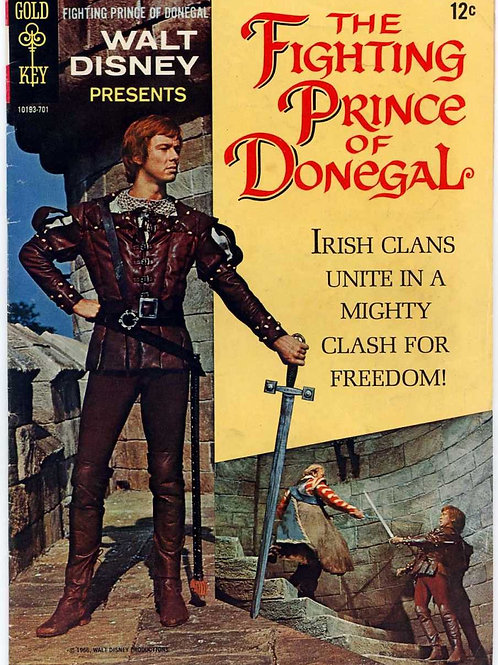O VALENTE PRÍNCIPE DE DONEGAL (The Fighting Prince of Donegal, 1966)