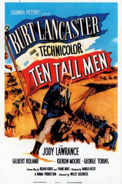 HOMENS DO DESERTO (Ten Tall Men, 1921)
