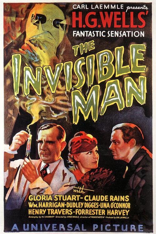 O HOMEM INVISÍVEL (The Invisible Man, 1933)