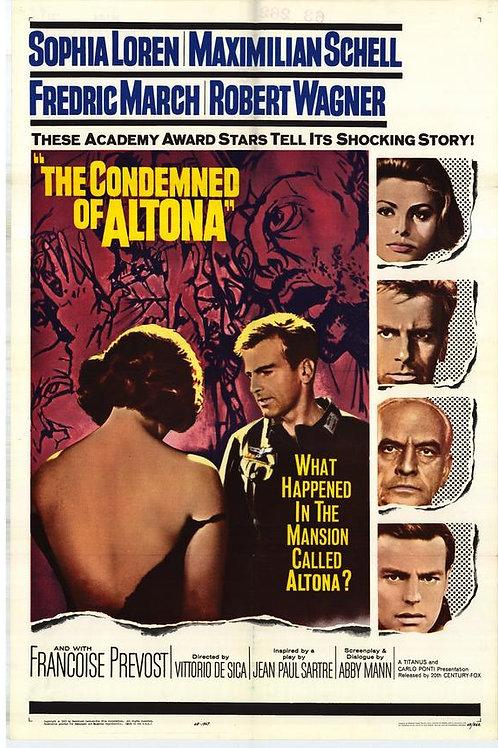 O CONDENADO DE ALTONA (I Sequestrati di Altona, 1962)