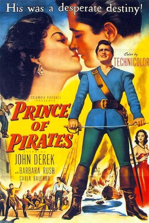 O PRÍNCIPE PIRATA (Prince of Pirates, 1953)