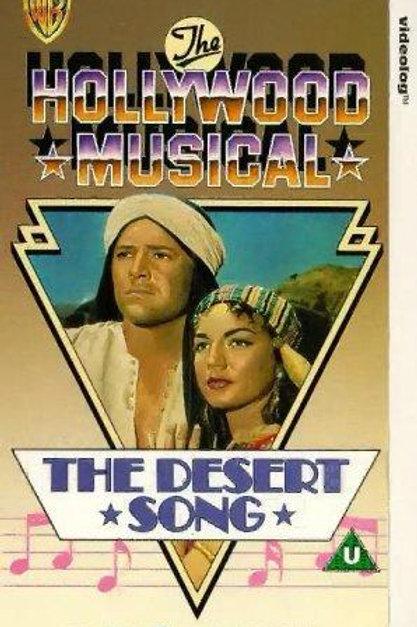 A CANÇÃO DO SHEIK (Desert Song, 1953)