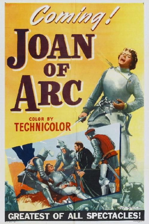 JOANA D'ARC (Joan of Arc, 1948)