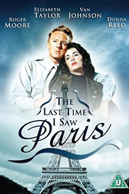 A ÚLTIMA VEZ QUE VI PARIS (The Last Time I Saw Paris, 1954)