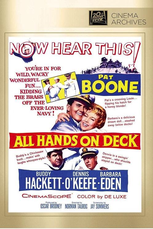 CASA-TE COMIGO (All Hands On Deck, 1961)Blu-ray