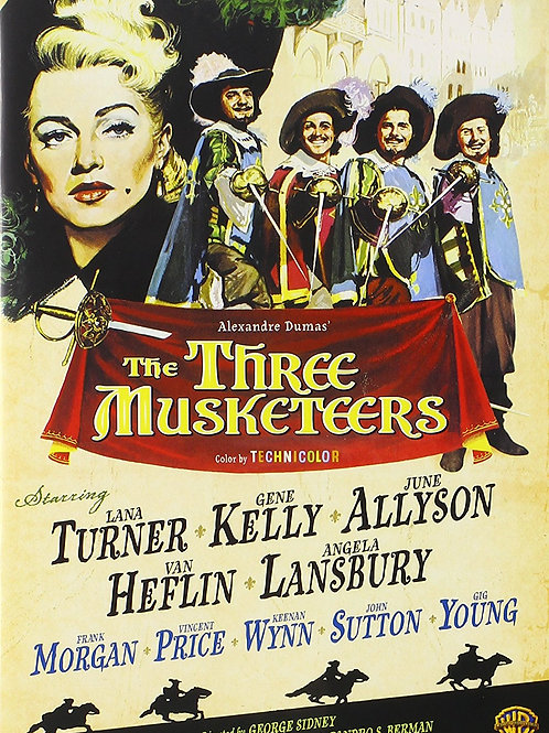 OS TRÊS MOSQUETEIROS (The Three Musketeers, 1948)