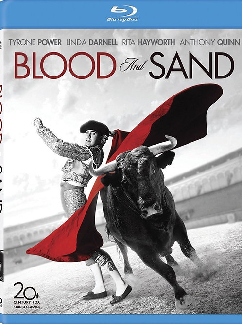 SANGUE E AREIA (Blood and Sand, 1941) Blu-ray