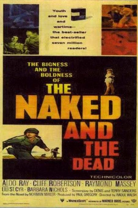 A MORTE TEM SEU PREÇO (The Naked and The Dead, 1958)