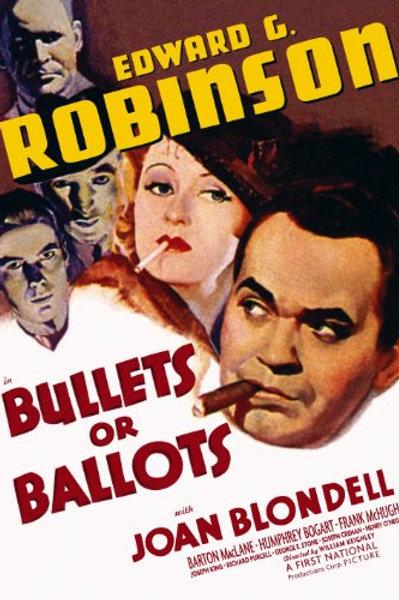 BALAS OU VOTOS (Bullets or Ballots, 1936)