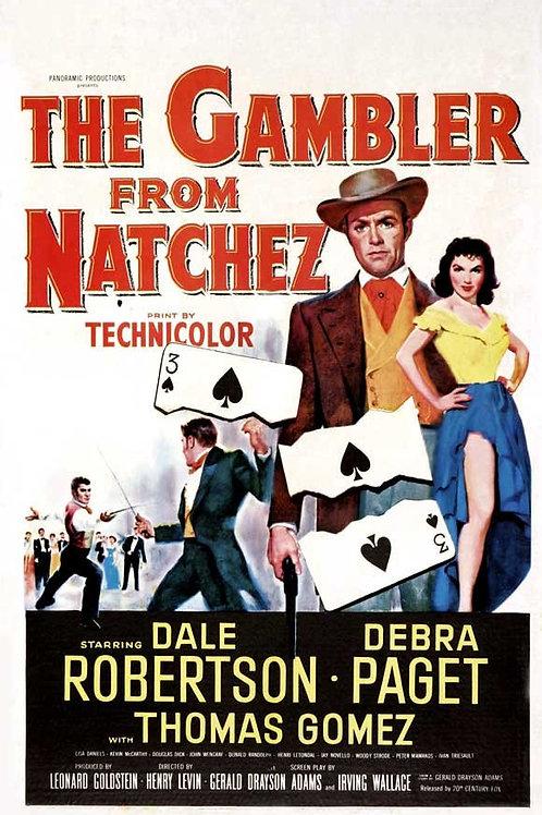 EU ME VINGAREI (The Gambler From Natchez, 1954)