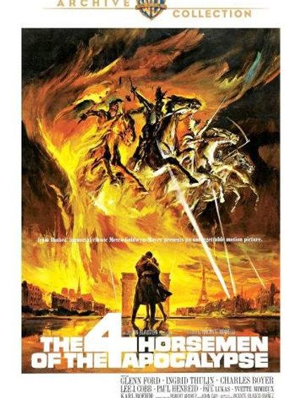 Os quatro Cavaleiros do Apocalipse (The Four Horsemen of Apocalypse, 1962)