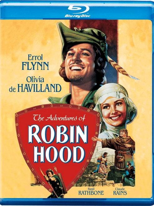 AS AVENTURAS DE ROBIN HOOD (The Adventures of Robin Hood, 1938) Blu-ray