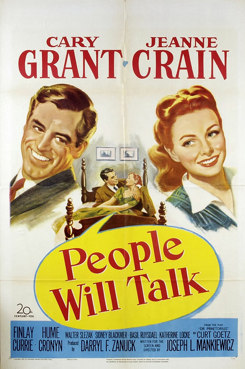 DIZEM QUE É PECADO (People Will Talk, 1951)