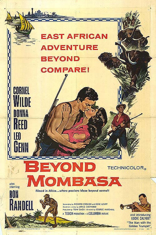 MOMBASA, A SELVA NEGRA (Beyond Mombasa, 1956)