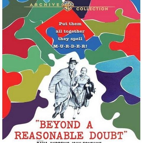 SUPLÍCIO DE UMA ALMA (Beyond a Reasonable Doubt, 1956) Blu-ray