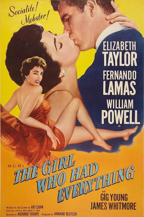 A JOVEM QUE TINHA TUDO (The Girl Who Had Everything, 1953)